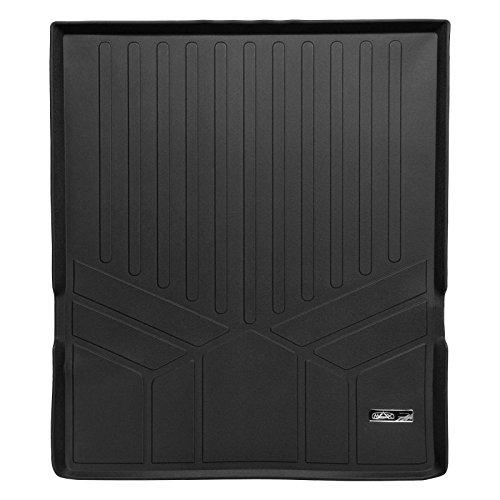 MAXLINER All Weather Cargo Liner Floor Mat Behind 2nd Row Black for 2009-2019 Ford Flex / 2010-2017 Lincoln MKT (Ford Flex Floor Mats)