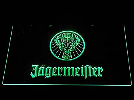 Jagermeister Deer head LED Neon Sign Bar