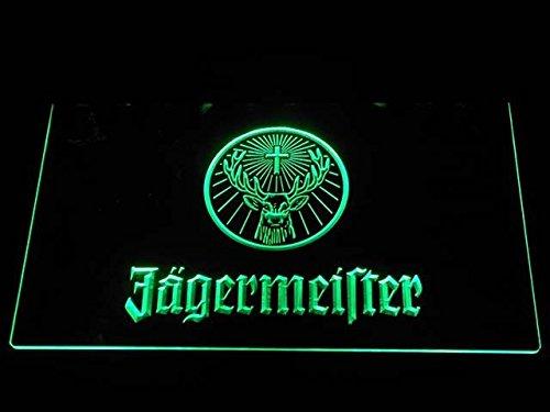 Jagermeister Deer head LED Neon Sign Green