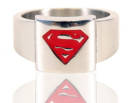 Superman Logo Stainless Steel Ring product image