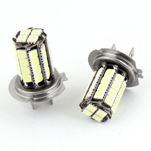 eDealMax 2PCS H7 36 LED SMD 5050 Conduite Blanc brouillard phares Ampoule DC 12V pour voiture