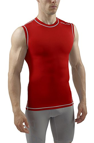 - Sub Sports Mens Sleeveless Compression Top Base Layer Tank Top Vest -M