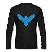 RUIFENG Men's Nightwing Long Sleeve T-shirt