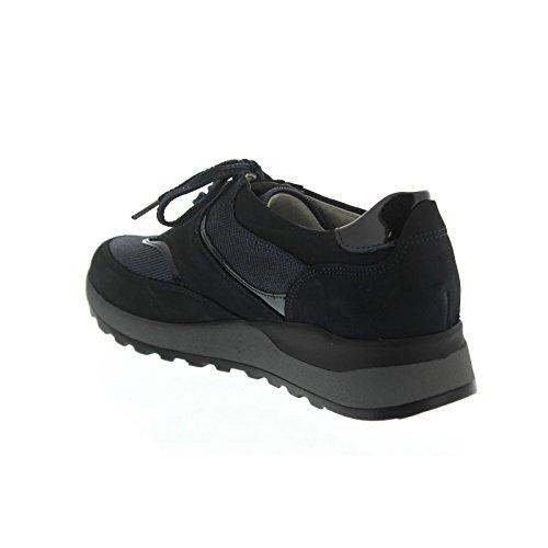 Sneaker Donna notte Hiroko Waldläufer Dunkelblau 5wWvz