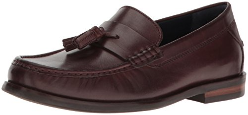 Cordovan Penny Loafer (Cole Haan Men's Pinch Friday Tassel Contemporary Penny Loafer, Cordovan Handstain, 10.5 W US)
