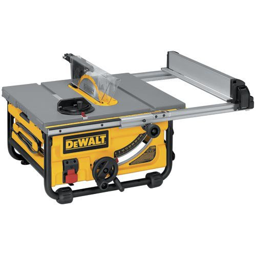 DEWALT DW745 10-Inch Compact Job-Site Table Saw with...