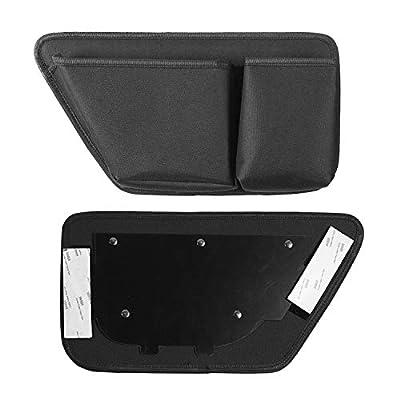 JeCar Door Storage Bag Front Door Pockets Durable Oxford Storage Organizer for 2011-2020 Jeep Wrangler JK JKU 2/4 Door, Interior Accessories, 2 PCS: Automotive