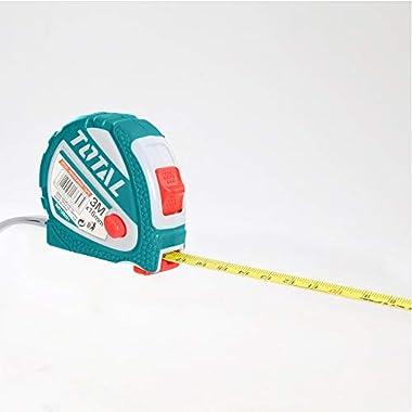 MR LIGHT TOTAL Iron Steel Measuring Tape, 3 m x 16 mm, Multicolour 8