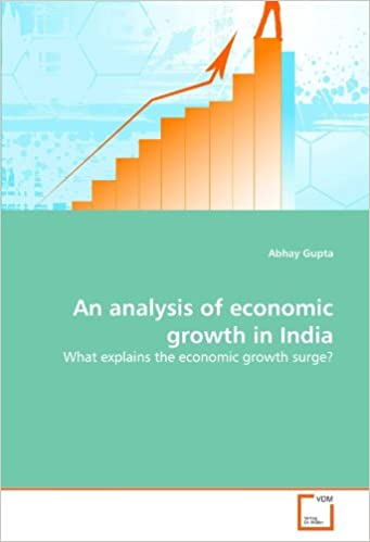 An analysis of economic growth in India: What explains the economic growth surge?
