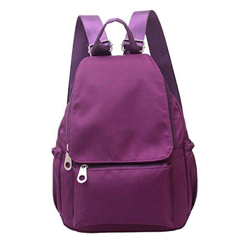 Bolso De Hombro Versión Coreana De Los Estudiantes De Viento Bolsa De Viaje Bolsa De Paquete Purple
