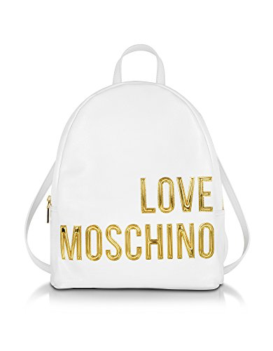 LOVE MOSCHINO FEMME JC4081PP13LL0100 BLANC POLYURÉTHANE SAC À DOS