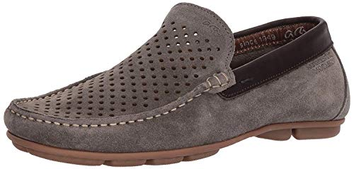 ara Men's Merrick Driving Style Loafer, Taupe Suede, 45 M EU (11-11.5 US) (Suede Ara Loafers)