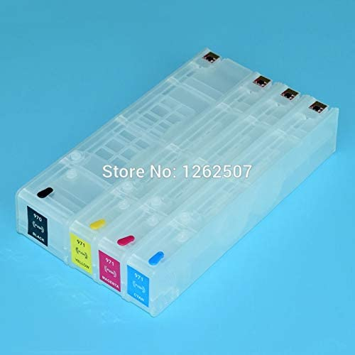 Printer Spare Parts Show Ink Level Chips Include Ink Cartridge for HP X551 X451 X476 X576 Printers for HP 970Xl 971Xl