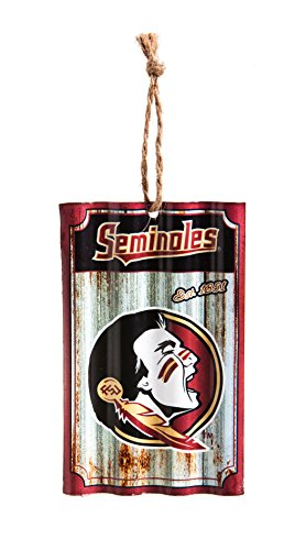 Team Sports America Florida State Seminoles Corrugated Metal (Holiday Cubicle Decorations)