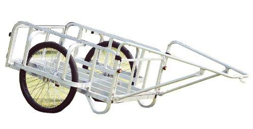 ハラックス アルミ 製 大型リヤカー 強力型 輪太郎 BS-2000N 防J 直送 B01N9LN9OD