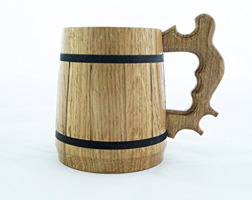Dungeon and Dragons Mug. D&D Gift. Personalized Beer Stein. Best Gift. Gamer Wooden Beer Mug. Personalized Gamer Gift Beer Tankard Gift K86 by Creativeshop (Image #2)