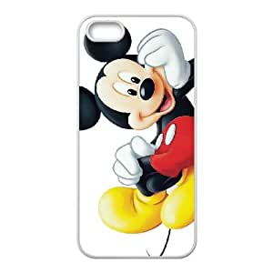 iPhone 5 5s Cell Phone Case White Mickey Mouse atlas phone case adgh7000576