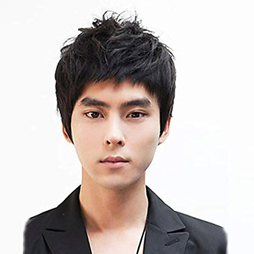 non mainstream men wig hair wigs japan and south korea handsome boy shaggy head manufacturers selling -