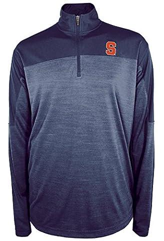 NCAA Syracuse Orange Zone Blitz Quarter Zip Pullover, XX-Large, Sports Navy ()