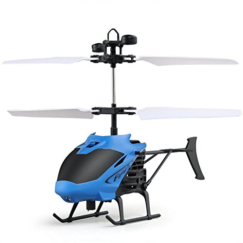 Smalody Mini RC Helicopter Radio Remote Control Hand Induction Flying Aircraft Electric Micro Helicopters Toys Gift for Kids (Control Electric Radio Helicopter)
