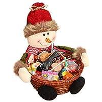 Hoveey Cesta de almacenaje para Navidad de,