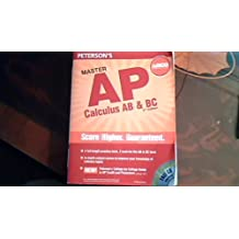 Master the AP Calculus AB & BC, 2nd Edition (Peterson's Ap Calculus)