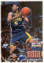 1999 Hoops #154 Jalen Rose Near Mint/Mint