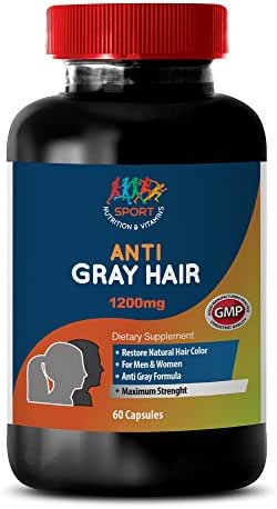 Rejuvenation for Ladies - Anti-Gray Hair 1200MG - Nettle and Horsetail - 1 Bottle (60 Capsules)