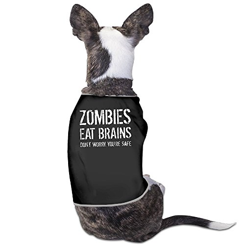 LeeRa Zombies Eat Brains So You're Safe 53 Dog Coats