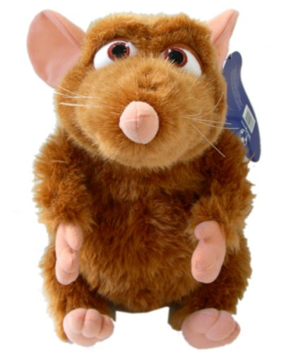"Disney Ratatouille Stuffed Animal - 15"" Emile Plush Toy"
