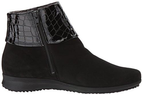 Mephisto Boots Womens Fiducia Nubuck Black 4XqFz8xwHq