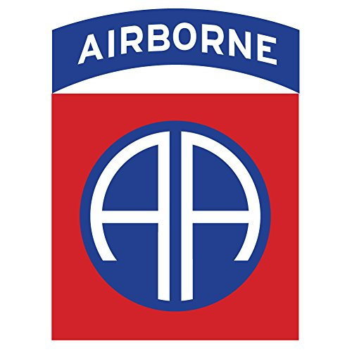 Bent Wookie 82nd Airborne SSI Decal 3.5 Inch Tall - US Army - Made in and Ships from USA - Dui Military Patch