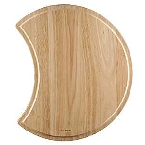 Houzer CB-1800 Endura Hardwood 16.12-Inch by 16.12 Inch Cutting Board