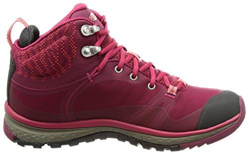 Femmes Vibrantes Terradora Pulse Mid Wp-w Chaussures De Randonnée Rhododendron / Sugar Coral