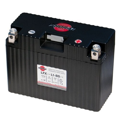 Shorai LFX Battery - LFX21A6-BS12/Black by Shorai
