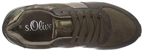 oliver Scarpe 330 brown Ginnastica 23604 Basse S Marrone Donna Comb Da 7Zdaqa6