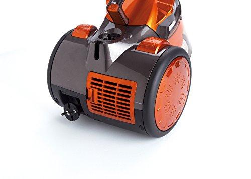 Jata AP999 Aspirador multiciclónico sin Bolsa, filtros Anti-ácaro, 700 W, 2 litros, 85 Decibeles, Negro Y Naranja: Amazon.es: Hogar