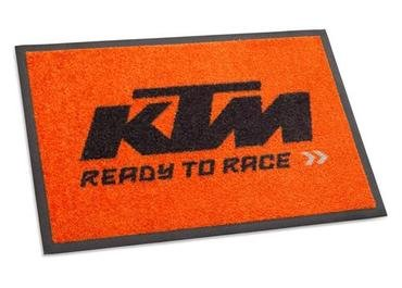 amazon com ktm ready to race doormat 3pw1871600 automotive