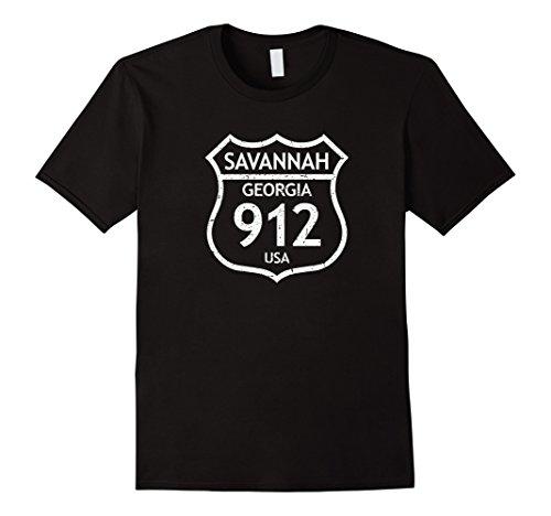 Savannah 912 Georgia Area Code, GA Love USA Home TShirt Georgia Womens Pink T-shirt