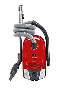 Miele - Aspirador Conbolsa S6210 Serie S6, 2000W, Filtro Super Air Clean, Bolsa 3,5L, Silencioso. Rojo Chili.