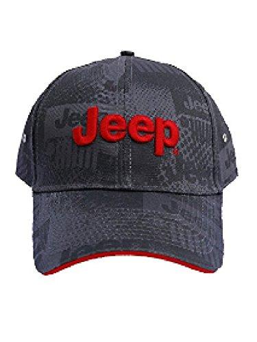Jeep Charcoal Watermark Cap (Jeep Hat)