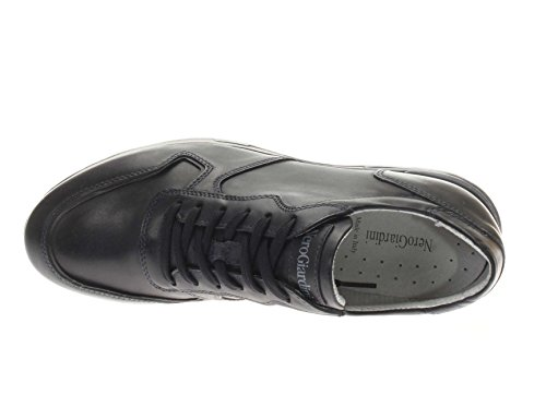 200 Nero Blu Giardini Uomo Pelle P800221U Sneaker Sneaker in CzBCq