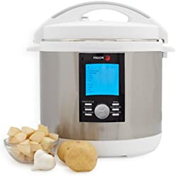 Fagor LUX LCD Multicooker, 8 qt, White