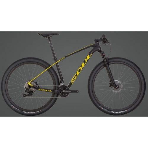 Bicicleta 29 Soul Vesuvio Carbon 20V Shimano Deore (Qd 15-P)