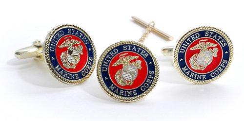 Marine Corps Tack Cuff Link
