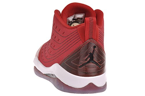 Air Jordan Geschwindigkeit (Kinder) - Gym Rot / WeiÃ?-Schwarz, 5 M Us
