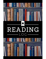Reading Log: A Reader's Journal to Record Books Read & Write in Reviews, Thoughts, Reflections & Other Notes | A Bibliophile's Memory Keepsake Notebook to Track Reading Journey