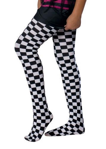 Bratz Checkered Tights - Child Small (Bratz Movie Costume)