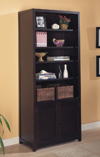 BOOKCASE,MAHOGANY 32-1/2Lx16Wx78H Review