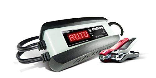 DieHard 71239 Platinum Smart Battery Charger Maintainer 612 Volt 3 Amp